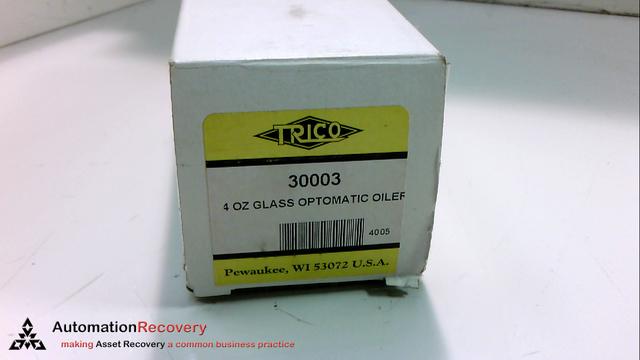 TRICO 30003 - OILER EB OPTO-MATIC 4OZ GLASS 1/4IN NPT - Automation