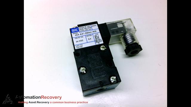 Details about  /MAC 45A-L00-DDAJ-1KD 24VDC 120PSI NSMP
