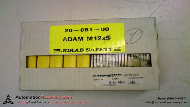 JAKOB SAFETY 20-051-00 ADAM M12X5 Safety Sensor