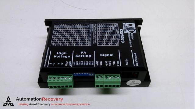 CNC ROUTER PARTS CRP8070, DIGITAL STEPPER DRIVE, 80VDC, 7A,