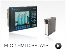 PLC / HMI Displays