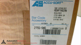 ACCU-SORT 2755-SN5 BARCODE READER ADAPTSCAN