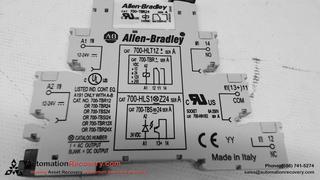 ALLEN DLEY 700-HLT1Z SERIES A TERMINAL BLOCK RELAY on