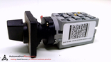 ABB 3HAC021696-001, SWITCH, 2 POSITION, 3PHASE, 7.5KW, 16A, 600VAC,