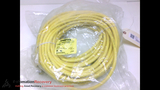 TURCK RSM RKM 46-30M CABLE, MALE/FEMALE, STRAIGHT/STRAIGHT, 4POLE/4P