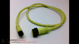 WOODHEAD CONNECTIVITY 82443-M010 CORDSET 4 POLE MALE/FEMALE ST/ST 1M