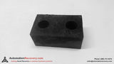 2 HOLE RUBBER SPACER 4.5MM X 2.5MM X 2MM