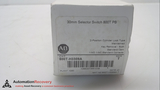 ALLEN BRADLEY 800T-H3309A, 30 MM SELECTOR SWITCH