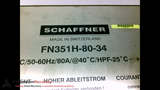 SCHAFFNER FN351H-80-34 POWER LINE FILTER, 3X520VAC, 50-60HZ, 80A