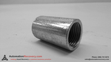 1/2 COUPLING - PACK OF 6 -