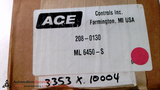 ACE 208-0130 SHOCK ABSORBER